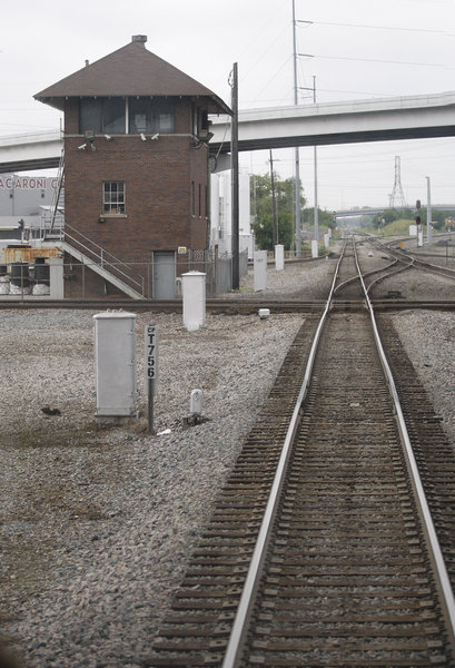 Fort Worth's critical Tower 55 rail intersection will get badly needed upgrades, increasing freight capacity and train speeds. Photo: Star-Telegram.