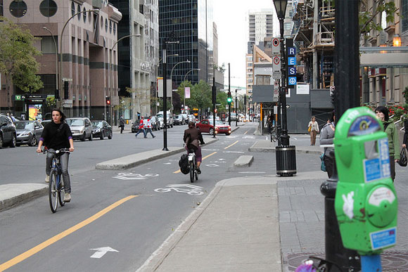 study cyclists gravitate toward streets with protected