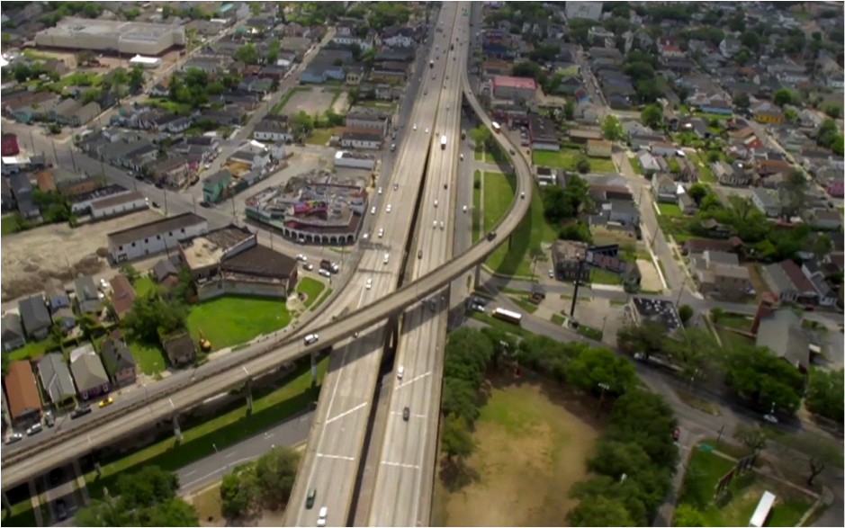 New Orleans' Claiborne Expressway is ripe for demolition, says CNU. Image: CNU