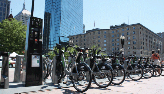 Doctors in Boston are now prescribing Hubway memberships. Photo: Hubway