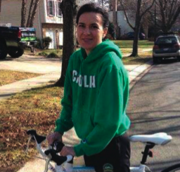 Track and field coach and mother Trish Cunningham, age 50, was killed while riding her bike in Annapolis, Maryland, in 2013. Photo: League of American Bicyclists