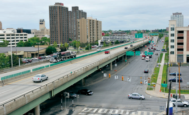 Syracuse's I-81 is crumbling. Will the city rebuild it, or tear it down?Photo: Onondaga Citizens League