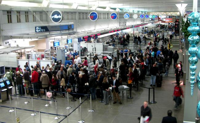 Security lines, delays, and baggage fees are adding up to big frustrations for air travelers. Is the airlines' loss rail's gain? Photo: ##http://theotherhubby.com/2012/08/##The Other Hubby##