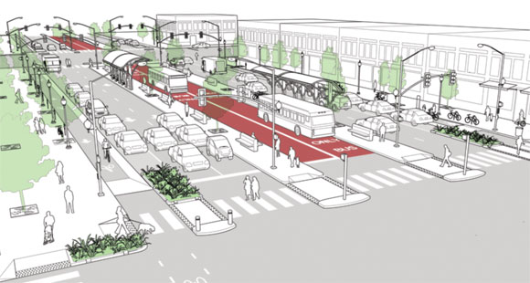 Complete streets design guidelines streetsblog chicago Urban planning and design for the american city