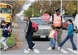 Crosswalks and adult supervision are two ingredients in keeping kids safe from both traffic and violence. ##https://www.dot.ny.gov/safe-routes-to-school##NY DOT##
