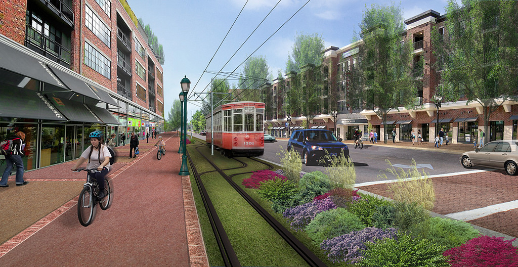 Will St. Louis' downtown loop trolly survive bad financial news? Image: nextSTL