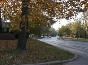 This is what Riverside Drive looks like now. The road carries 25,000 cars a day. Photo: Smart Growth Tulsa Coalition