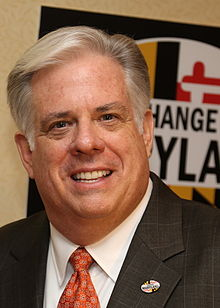 The fate of two of the country's biggest planned transit projects rest in this man's hands: Maryland Governor-Elect Larry Hogan. Photo: Wikipedia
