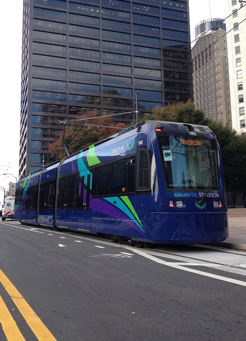 The Atlanta Streetcar is underperforming projections. Photo: City of Atlanta