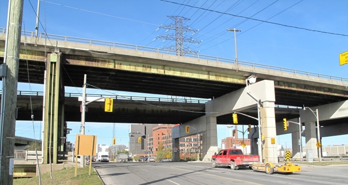 Toronto's Gardiner East Expressway. Photo: Gardinereast.ca