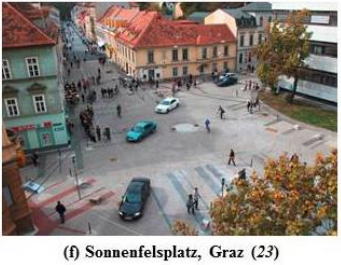 "A ""shared space"" in Austria. Image: Transportation Research Board"