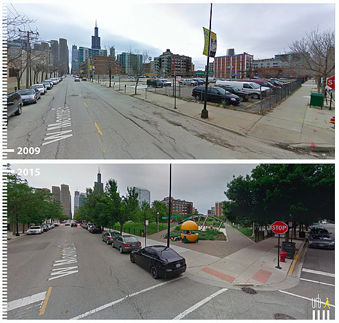 West Monroe Street in Chicago via URB-I