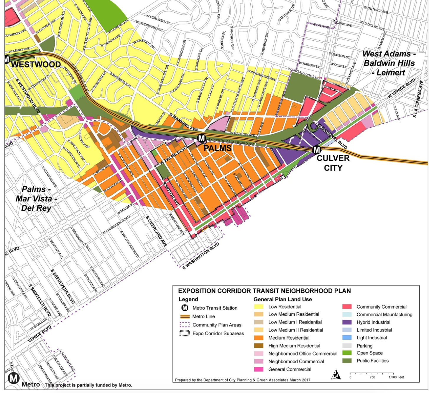 As Transit Expands In Los Angeles Will Walkability Follow - Los angeles zoning map