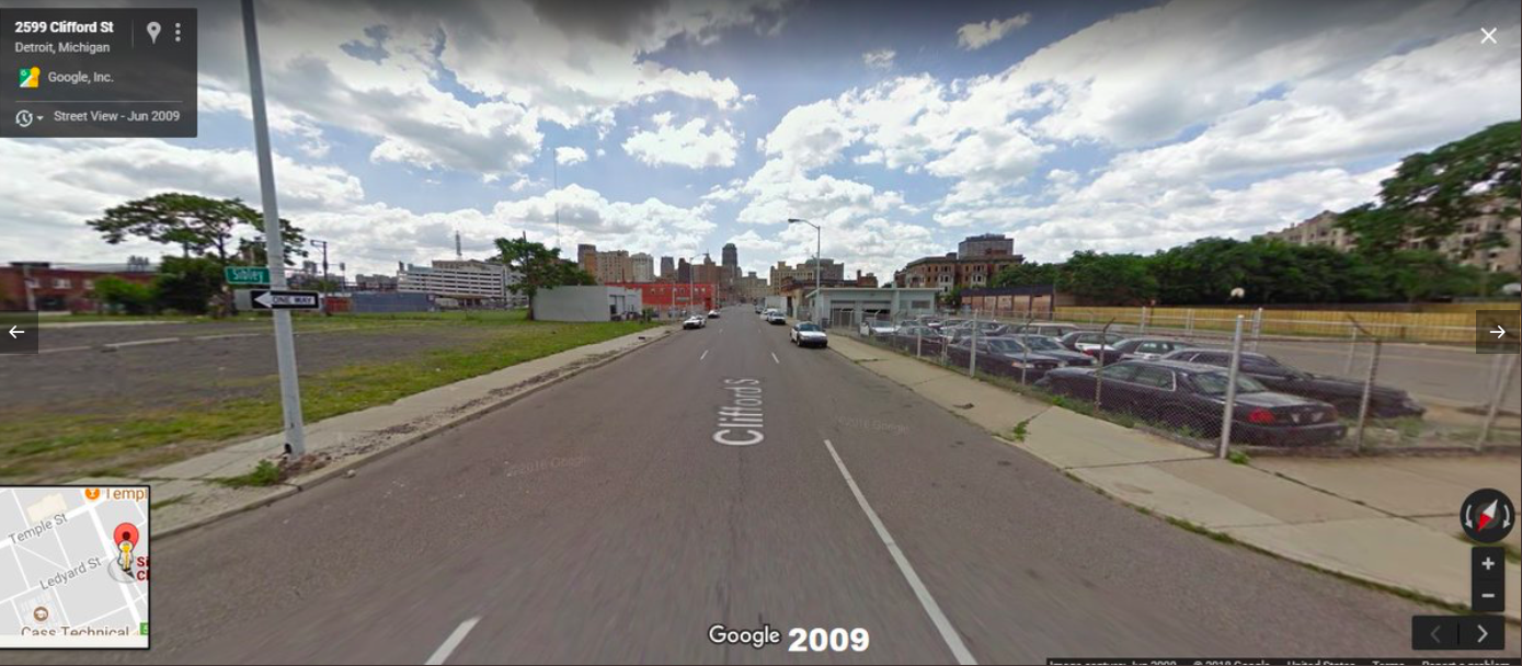 A Haunting Glimpse at How Detroit Gave Way to Asphalt and