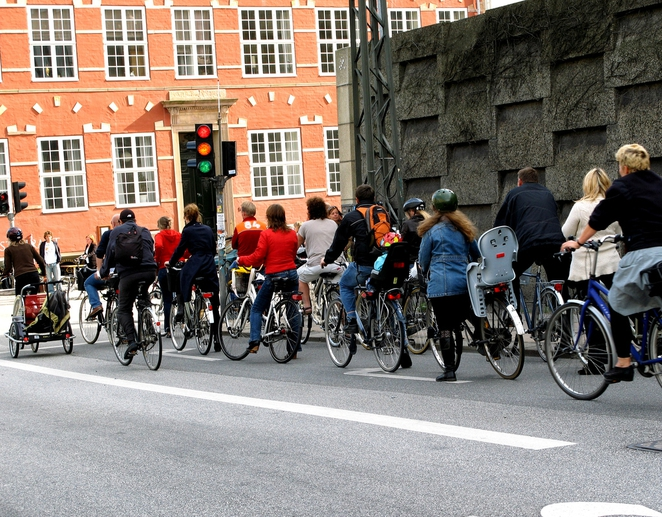More people are biking these days in Copenhagen, but why? Photo: Michael Colville-Andersen