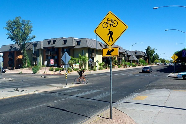 Tucson's funds for bike and pedestrian improvements are drying up, some advocates say. Photo: Bicycle Tucson