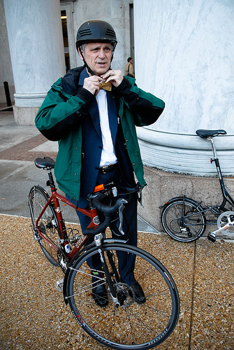 Oregon Congressman Earl Blumenauer wants to help cities achieve zero traffic  deaths. Photo: Jonathan Maus