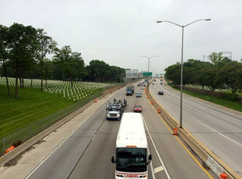 The state of Wisconsin is planning to spend $850 million rebuilding and widening this highway through an urban part of Milwaukee. The agency has pretty much absolved itself of any impact on the surrounding minority communities. Image: 1000 Friends of Wisconsin