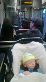 Bus riding with baby just got a lot easier in Seattle. Photo: Seattle Transit Blog