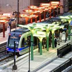 Political sqabbles at the state level are a major obstacles for cities seeking to add transit amenities, like this light rail line in Charlotte. Photo: The Naked City