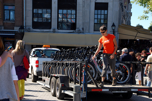 """Capital Bikeshare's """"rebalancing"""" strategy is getting more sophisticated. Photo: Beyond DC"""
