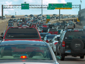 Suburban Houston won't pave its way out of congestion. Photo: Michael Bludworth/Flickr