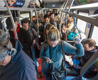 Guns on transit: What could go wrong? Photo: King County Metro
