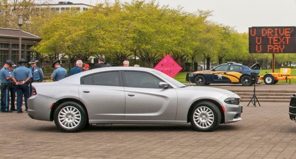These unmarked patrol cars will be used to stop distracted drivers, Oregon officials say. Photo: ODOT