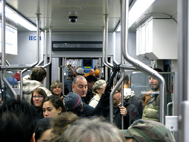 There just isn't room for all these folks to drive into Seattle. Photo: Seattle Transit Blog