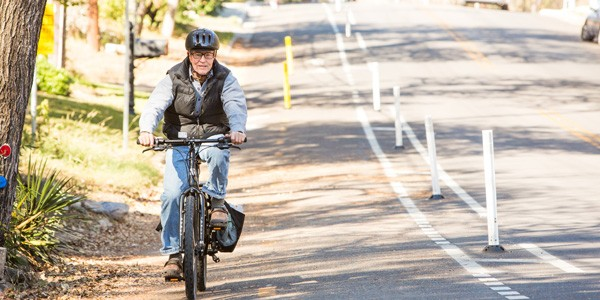 Protected bike lanes are welcomed by drivers as well. Photo: People for Bikes
