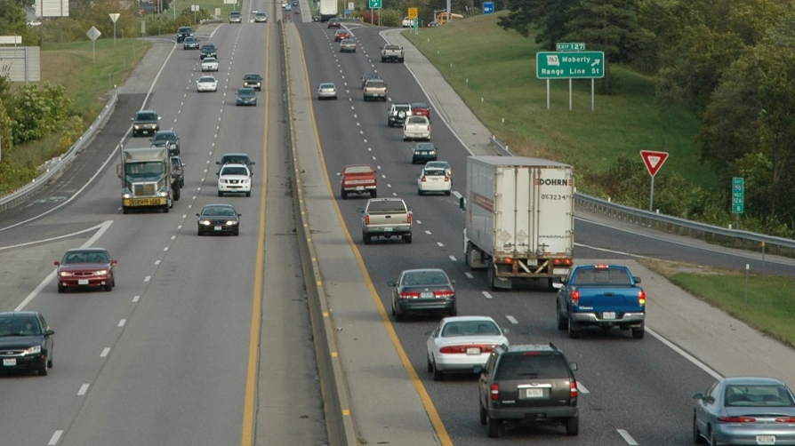 Federal forecasts think truck traffic is going to rise 45 percent. Is that reasonable? Photo: Wikipedia