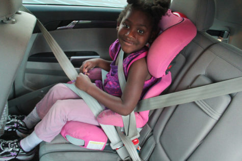 Are kids really better off restrained in moving vehicles than moving and walking? Photo: Free Range Kids